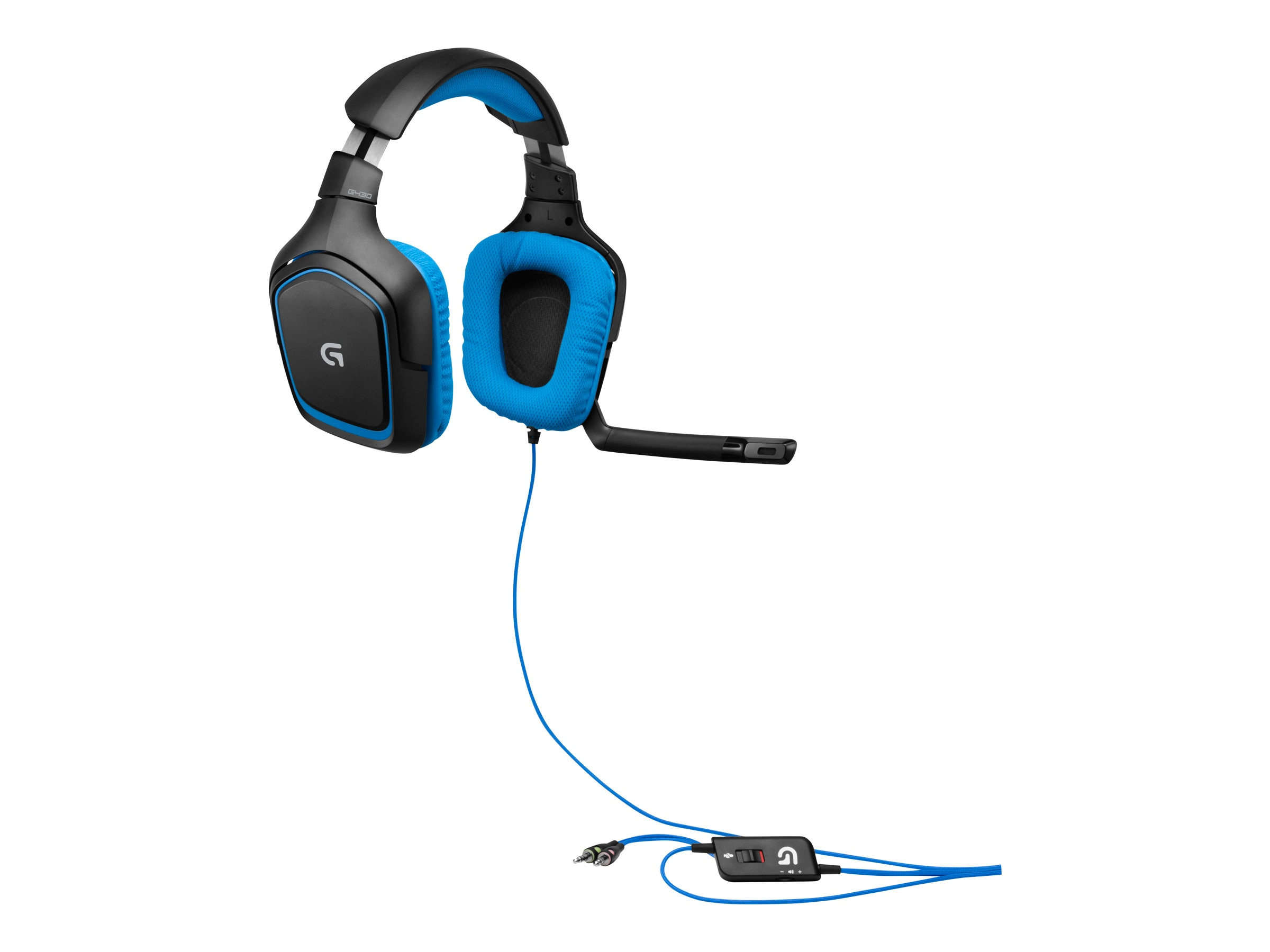 Logitech G430 Gaming Headset, 981-000536, 16261029, Computer Gaming Accessories