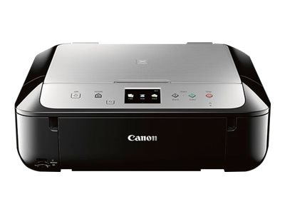 Canon PIXMA MG6821 Photo All-In-One Inkjet Printer - Black Silver, 0519C042