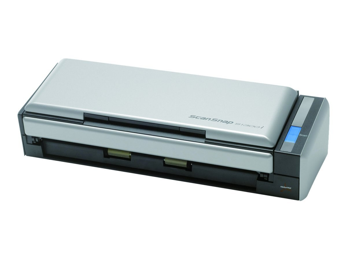 Fujitsu Scansnap S1300I Deluxe Color USB 600dpi Bundle Scanner w  Rack2 Filer, PA03643-B015, 14483971, Scanners