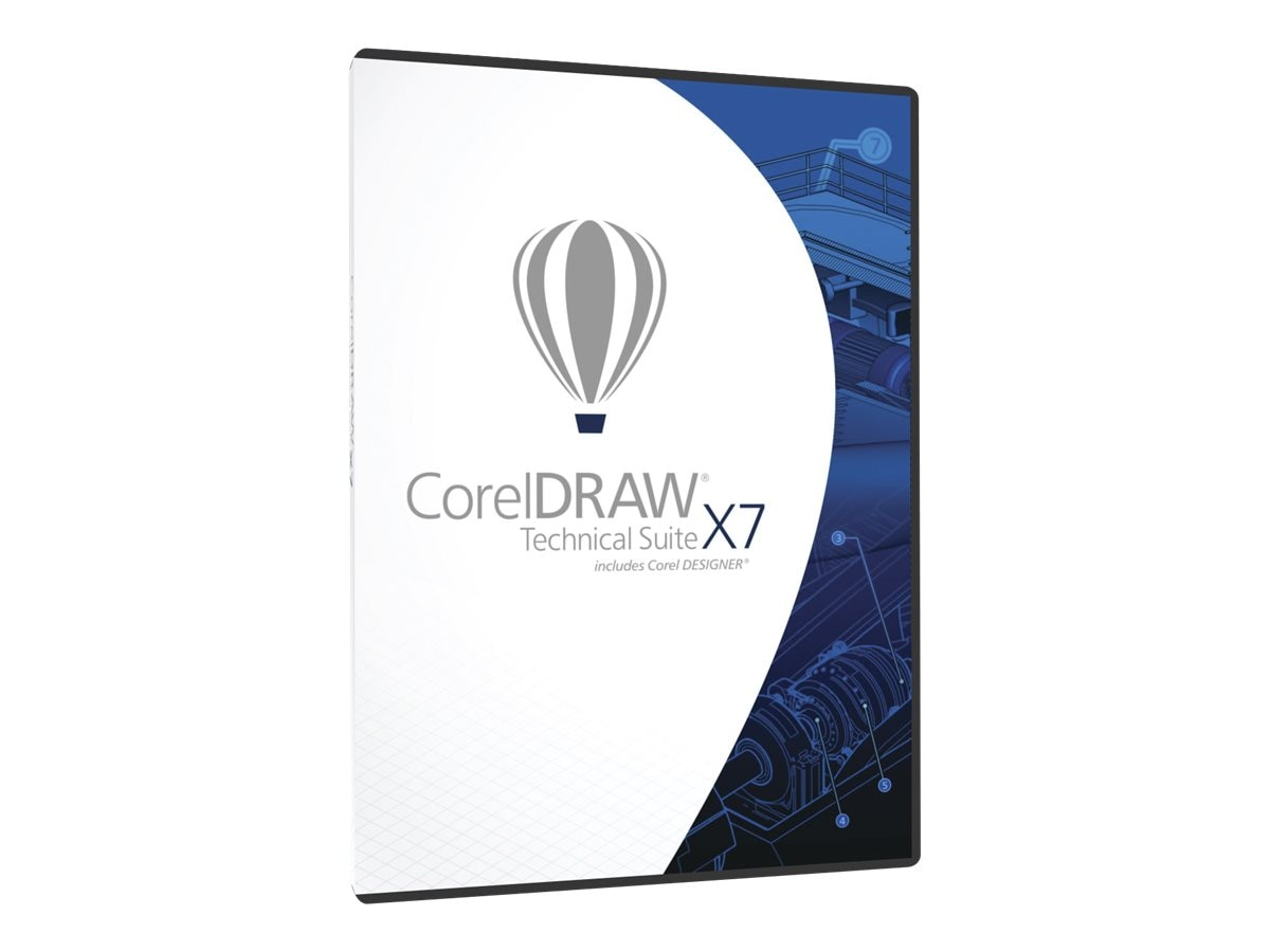 Corel CorelDRAW Tech Suite X7 Education ML, CDTSX7MLDVDA, 18623679, Software - Graphics Suites