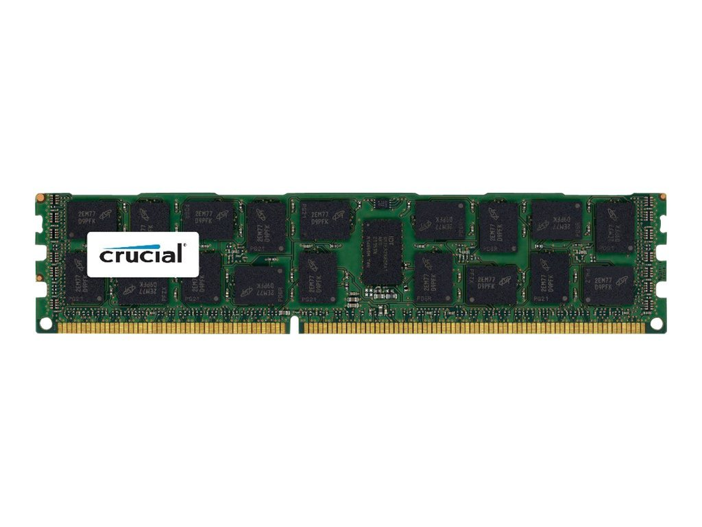 Crucial 8GB PC3-12800 240-pin DDR3 SDRAM RDIMM, CT8G3ERSLD8160B, 14481829, Memory