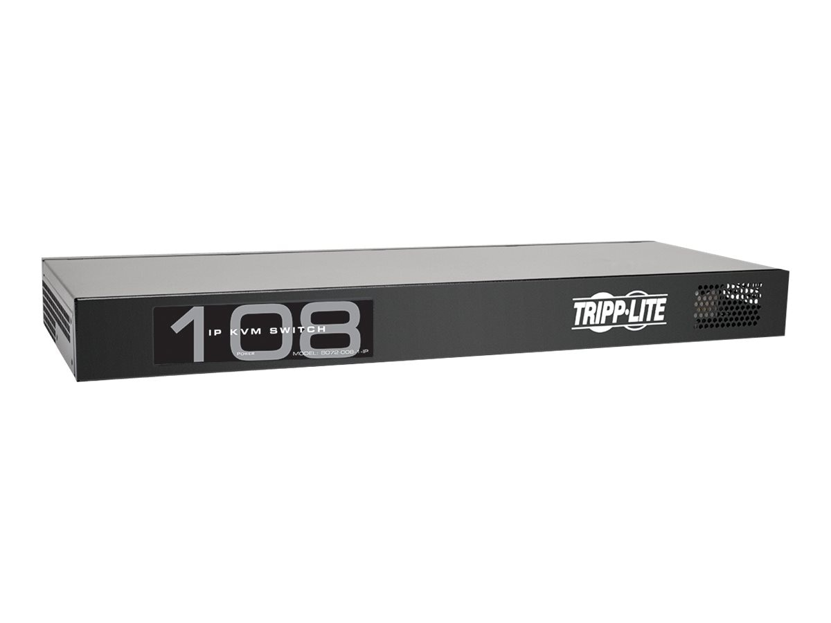 Tripp Lite 8-Port NetCommander 1U Rackmount Cat5 KVM Switch, Instant Rebate - Save $20
