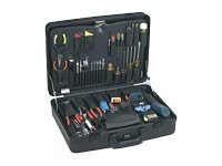 Jensen Tools LAN Manager's kit without Test Equipment in Monaco Case, JTK-2100LM, 8306670, Network Tools & Toolkits