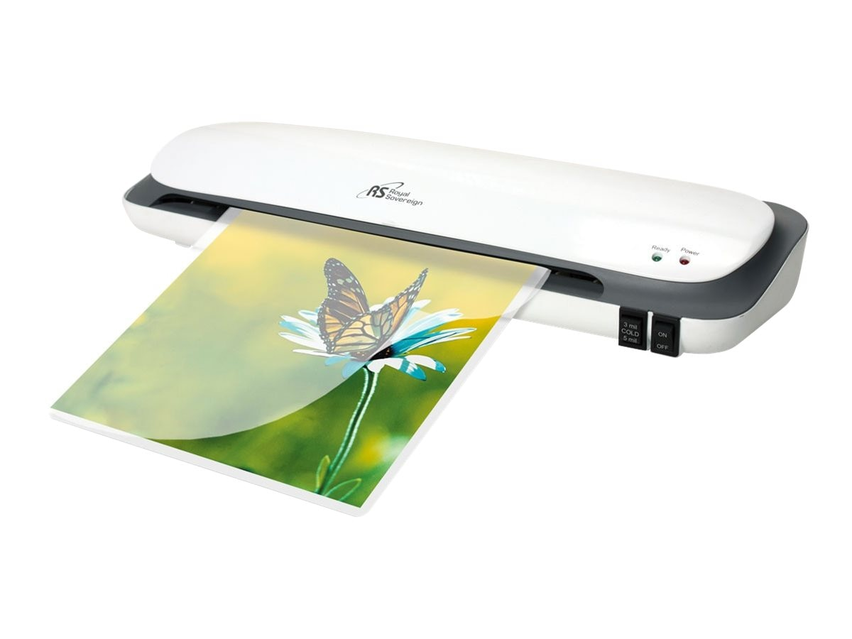 Royal Sovereign Hot Cold 12 Laminator 3, CS-1223, 31175882, Laminating Machines