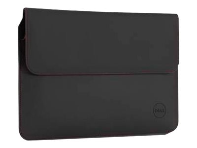 Dell Premier Sleeve for XPS 13 Ultrabook, Black Red Stitching, DVDRX, 30981014, Carrying Cases - Notebook