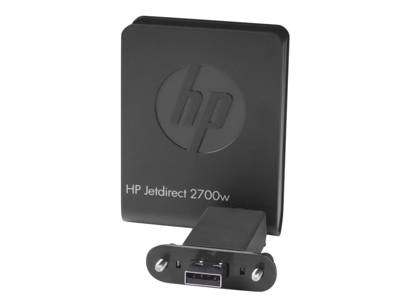 HP Jetdirect 2700w USB Wireless Print Server, J8026A, 14764714, Network Print Servers