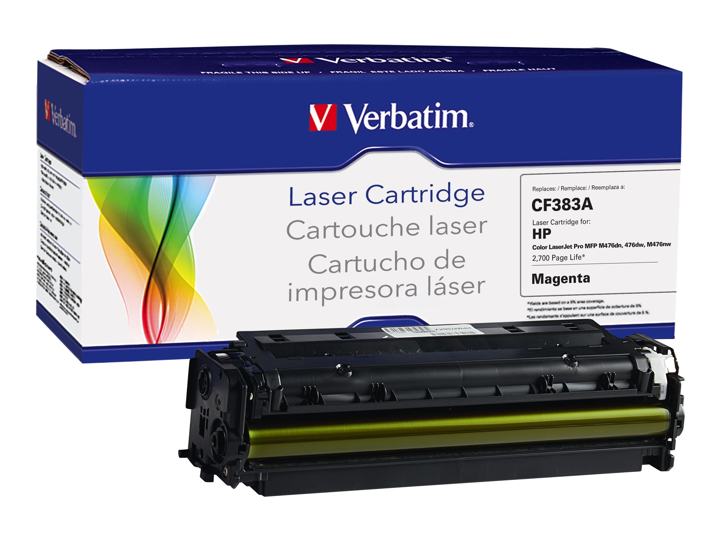Verbatim CE283A Magenta Toner Cartridge for HP, 99398