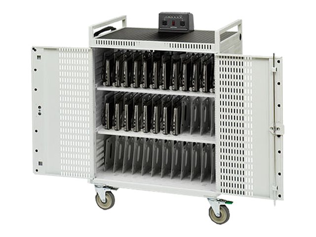 Bretford Manufacturing 36-Computer Netbook Storage Cart, NETBOOK36-CT, 12561243, Computer Carts