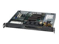 Supermicro Chassis, 1U Rackmount, 1x3.5 Bay, ATX, 600W PS, Black, CSE-512F-600B, 12606173, Cases - Systems/Servers