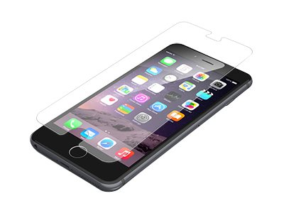 Zagg InvisibleShield Glass Screen Protector for iPhone 6, IP6GLC-F00, 17715459, Carrying Cases - Phones/PDAs