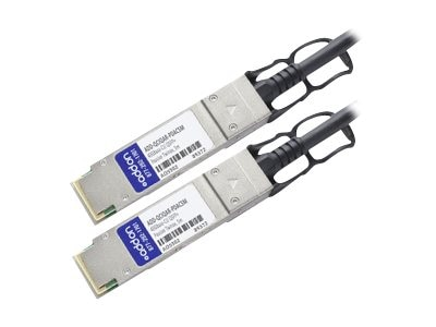 ACP-EP 40GBase-CU QSFP+ to QSFP+ Passive Twinax Direct Attach Cable, 5m, ADD-QCIQAR-PDAC5M