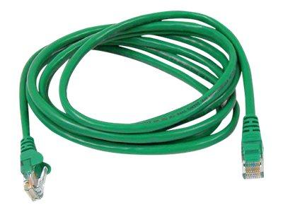 Belkin FastCAT 5e Patch Cable, Green, Snagless, 25ft, A3L850-25-GRN-S, 110688, Cables