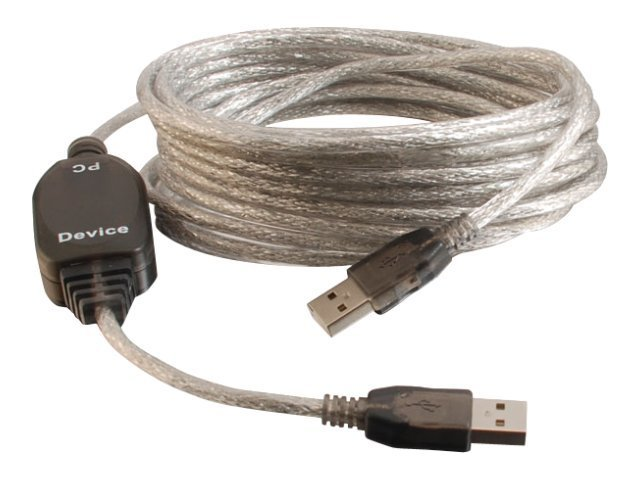 C2G USB 2.0 Extension Cable, USB Type A (M-M), 5m, 39997, 10032428, Cables