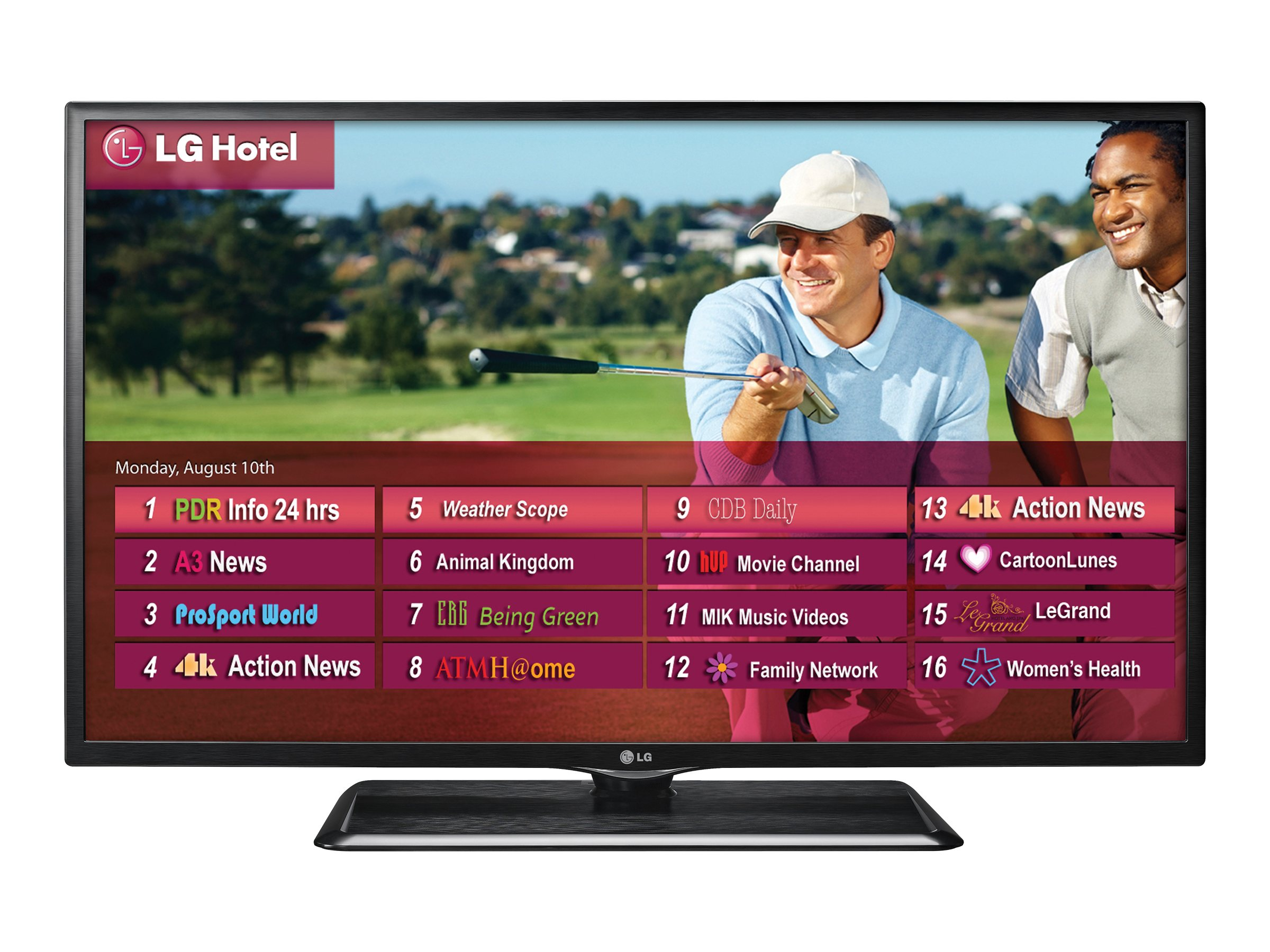 LG 42 LP620H Full HD LED-LCD Hospitality TV, Black, 42LP620H, 16526074, Televisions - LED-LCD Commercial