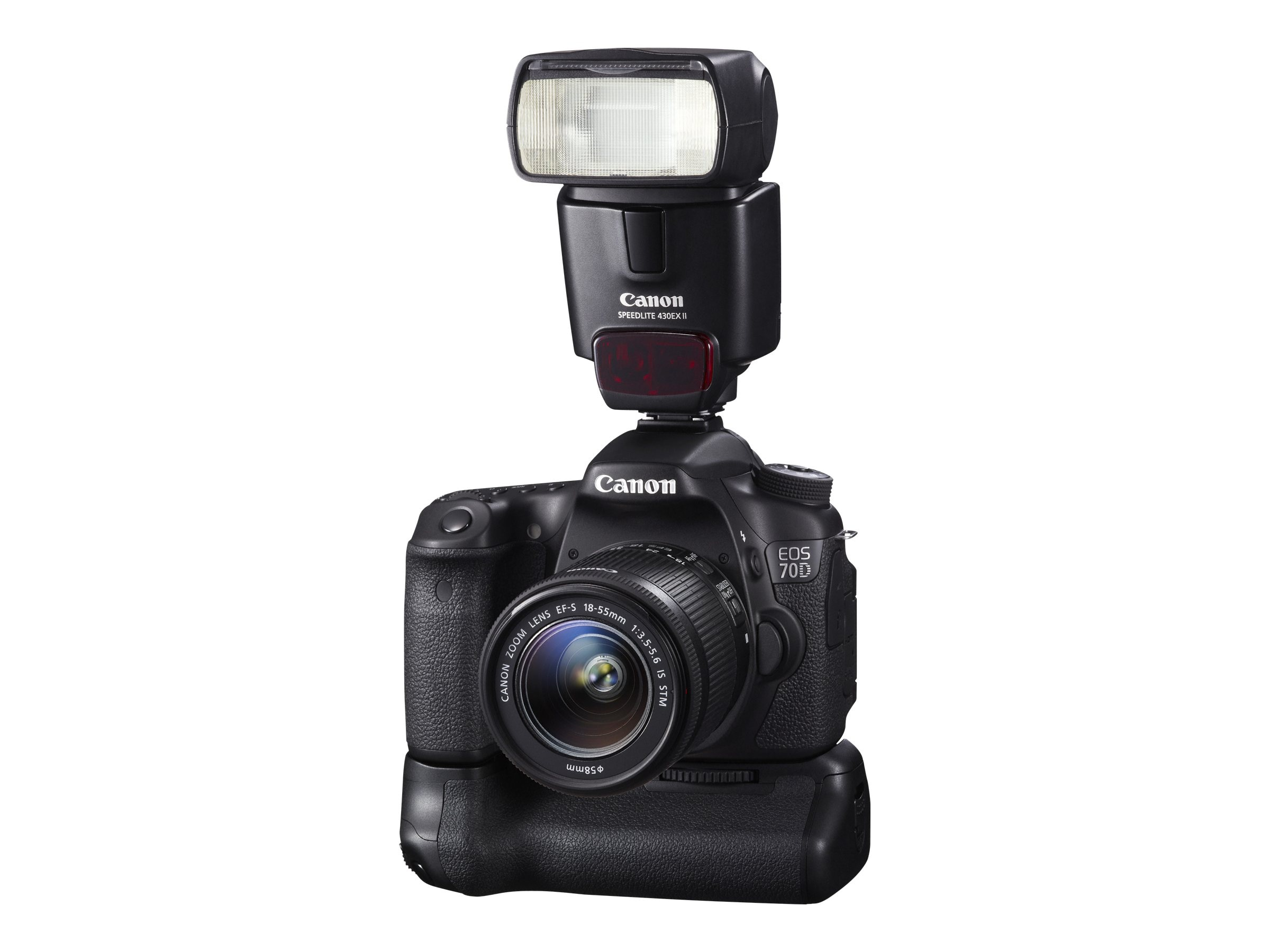 Canon EOS 70D DSLR Camera with 18-55mm Lens