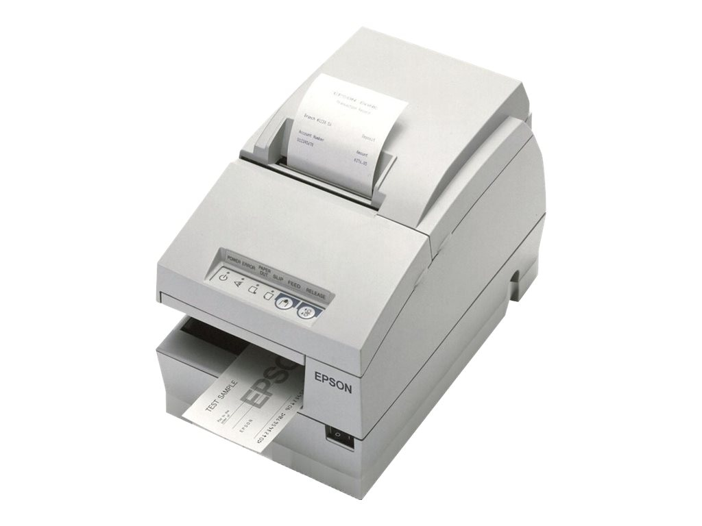 Epson TM-U675 Serial Multifunction Printer w Autocutter (requires PS-180), C31C283033, 7341166, Printers - POS Receipt