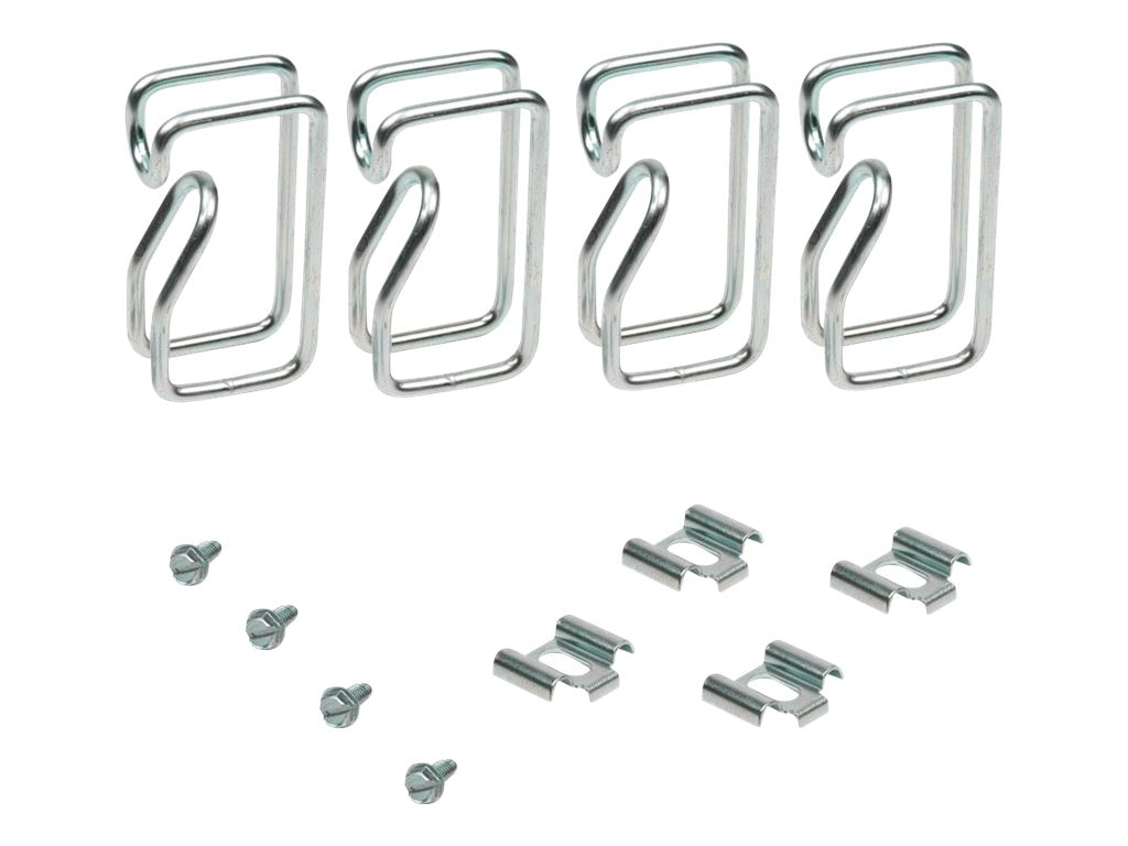 Innovation First D-Ring Clip Cable Management (4-pack), 137-1733, 12079959, Rack Cable Management