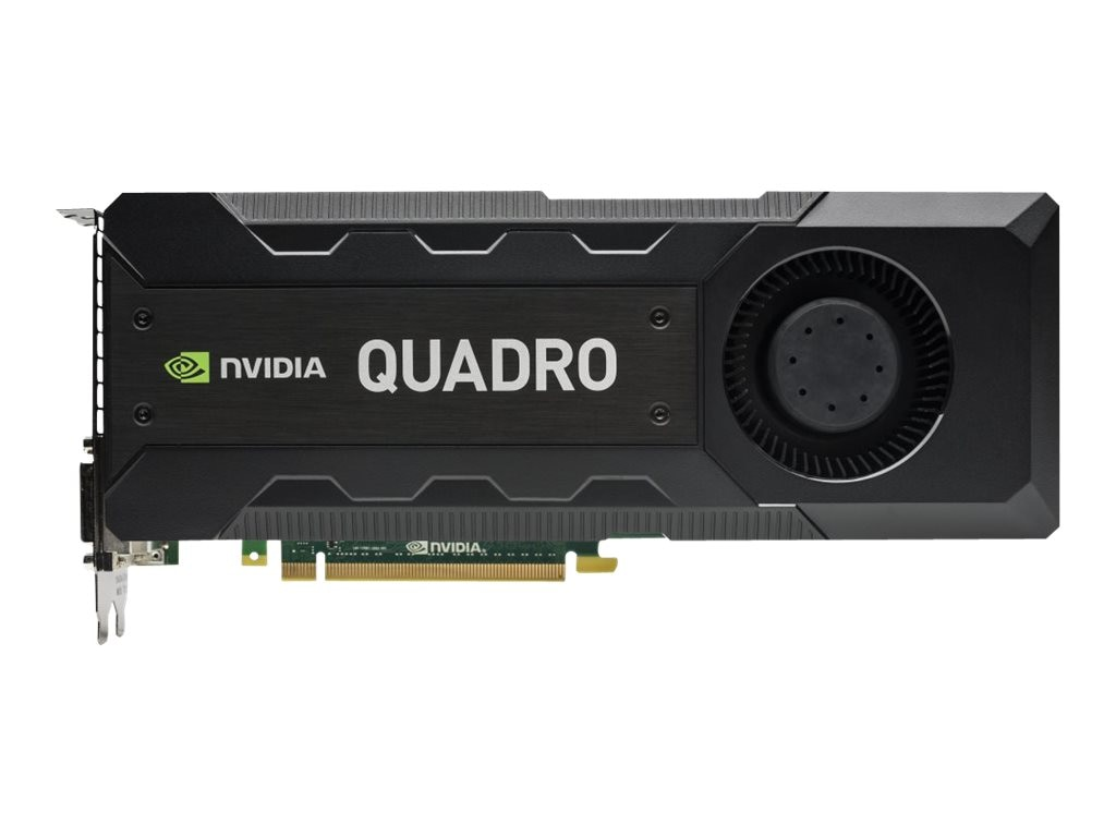 HP NVIDIA Quadro K5200 PCIe 3.0 x16 Graphics Card, 8GB GDDR5