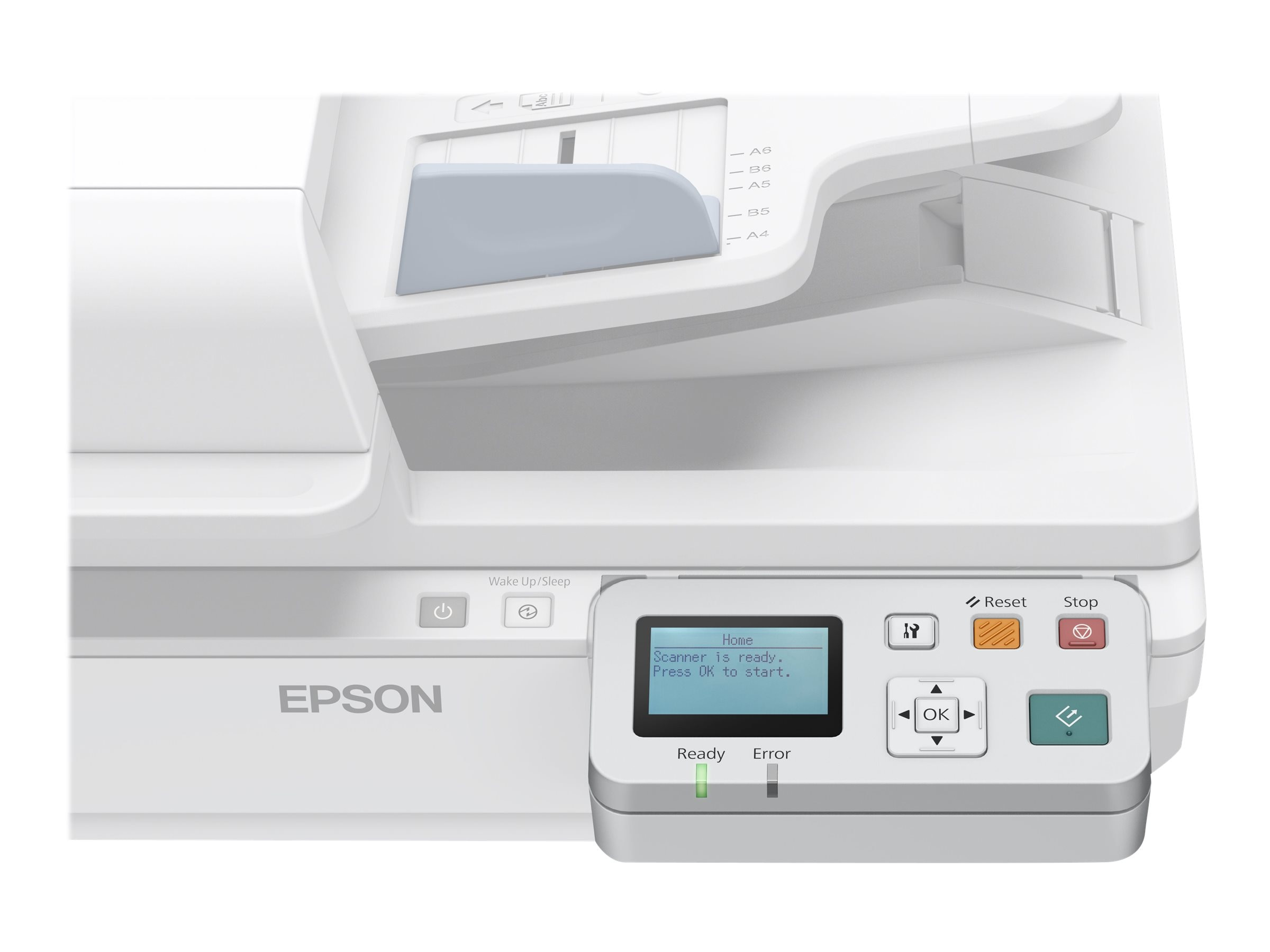 Epson Network Scan Module Panel