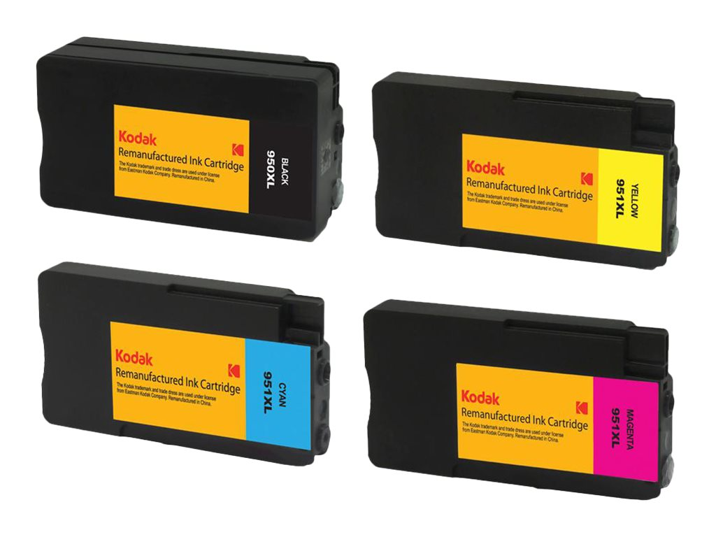 Kodak C2P01FN Ink Cartridge Combo Pack for HP, C2P01FN-KD
