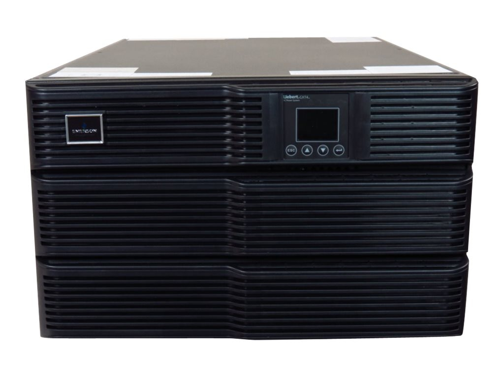 Liebert GXT4 8000VA Online UPS 208 120V w  Rackmount Kit, Webcard, GXT4-8000RT208, 18382086, Battery Backup/UPS