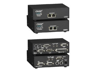 Black Box Server Switch Brand Dual-Video CATX KVM Extender