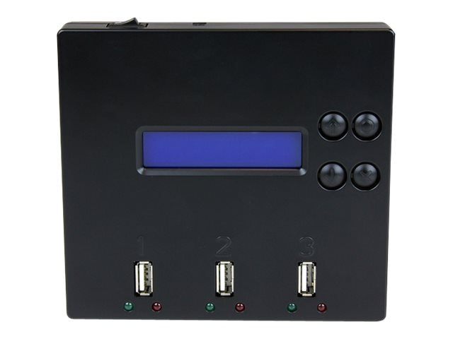 StarTech.com 1:2 Standalone USB 2.0 Flash Drive Duplicator & Eraser, Flash Drive Copier, USBDUP12
