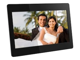 Aluratek Digital Photo Frame with 512MB Built-in Memory, 14in, ADMPF114F, 13395769, Digital Picture Frames