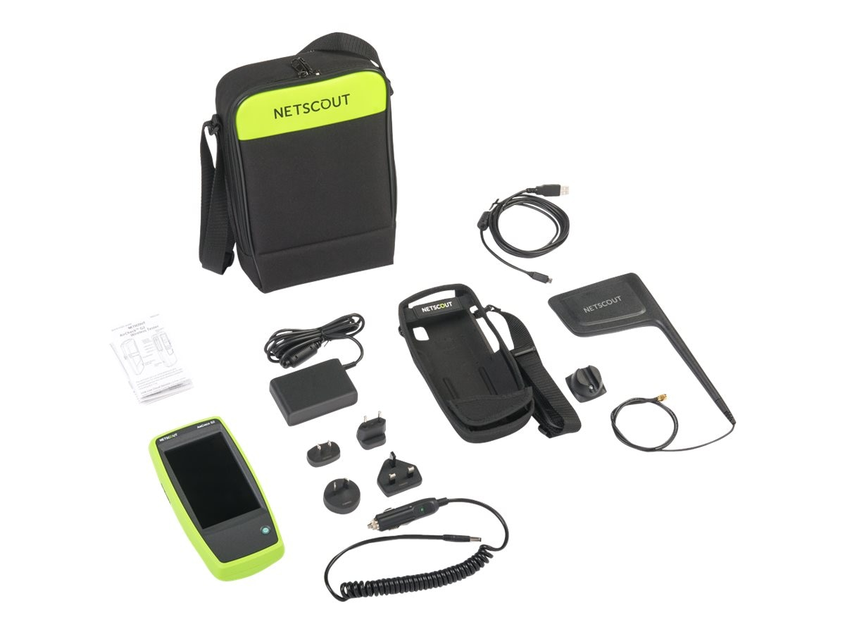AirCheck G2 Wireless Tester Kit w External Antenna, Auto Charger, Holster, AIRCHECK-G2-KIT
