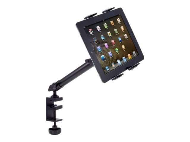 Arkon Heavy-Duty Tablet Clamp Mount for Desks or Treadmills with 10 Arm for iPad Air, iPad, Galaxy, TAB804