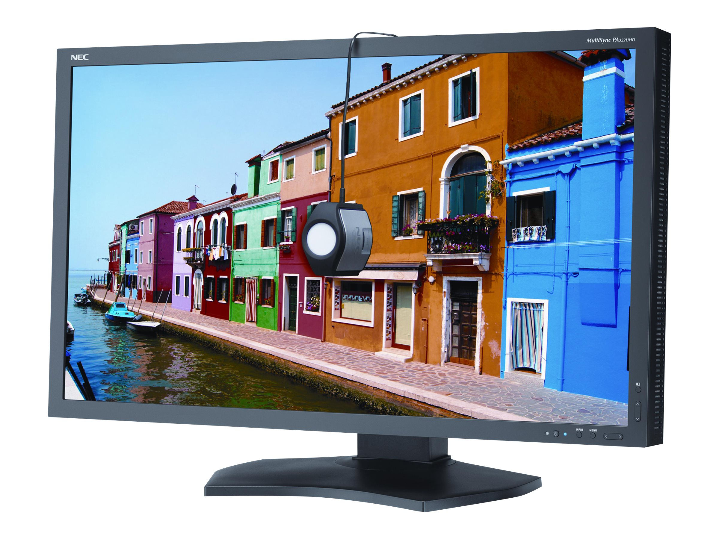 NEC 32 PA322UHD Ultra HD LED-LCD Monitor with SpectraView, PA322UHD-BK-SV