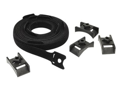 APC Toolless Hook and Loop Cable Managers, Set of 10