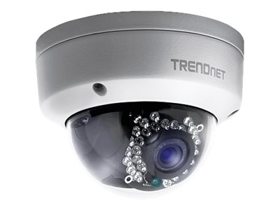 TRENDnet Outdoor 1.3 MP HD PoE Dome IR Network Camera