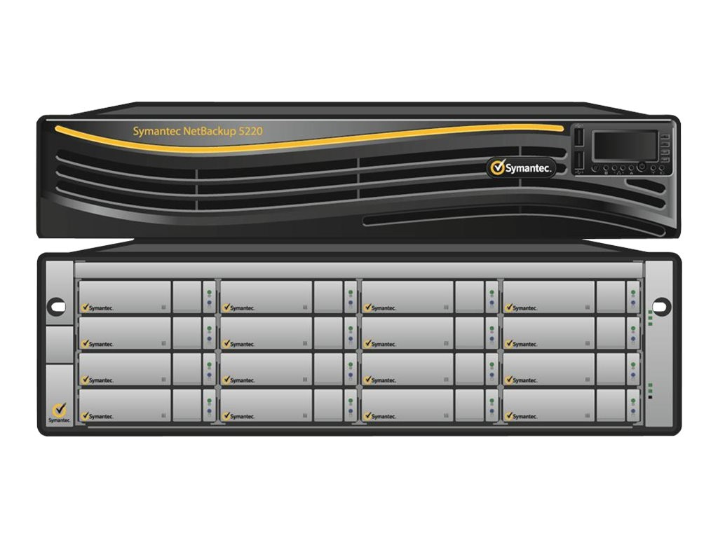 Veritas NetBackup 5220 Appliance 36TB w  6X1Gb Ethernet, 2X10Gb Ethernet &  2X8Gb FC