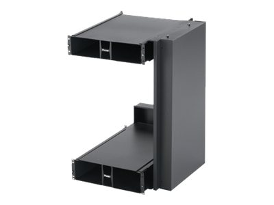 Panduit Net-Direct Air Inlet Duct for Cisco MDS 9513 Switch w  2U Top, 3U Bottom Inlet, Side Ducts, Black, DIBBC2314S21W