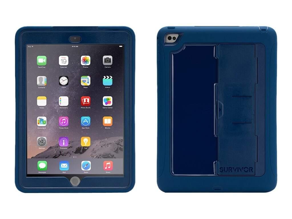 Griffin Survivor Slim for iPad Air 2, Blue Blue