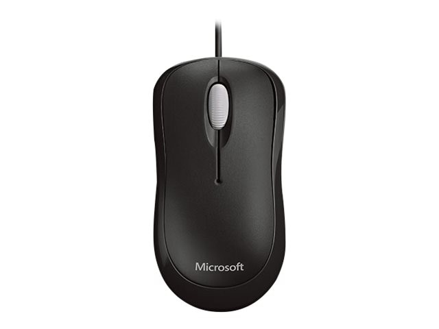 Microsoft Basic Optical Mouse, USB, Black, P58-00061