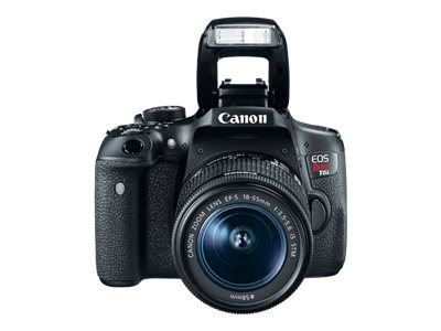Canon EOS Rebel T6i Camera with EF-S 18-55mm f 3.5-5.6 IS STM Lens Kit, Black, 0591C003