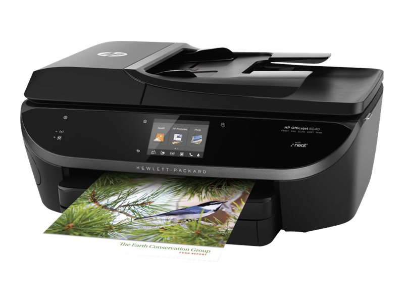 HP Officejet 8040 w  Neat  e AIO ($399.95 - $70 Instant Rebate = $329.95 Expires 2 29 16), F5A16A#ABA, 17792737, MultiFunction - Ink-Jet