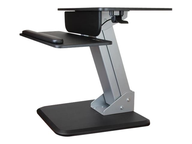 StarTech.com Dual Monitor Sit-to-stand Workstation, Black, BNDSTSDUAL
