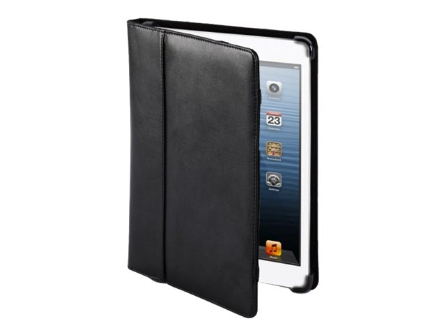 Cyber Acoustics Black leather iPad Mini cover, IMC-7BK