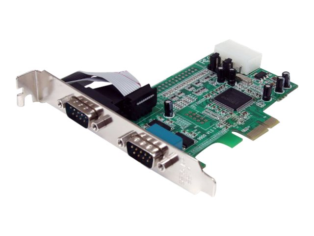 StarTech.com 2-port LP PCI Express Serial Card, PEX2S553