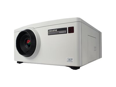 Christie DHD600-G HD DLP Projector, 6200 Lumens, White, 140-003104-01