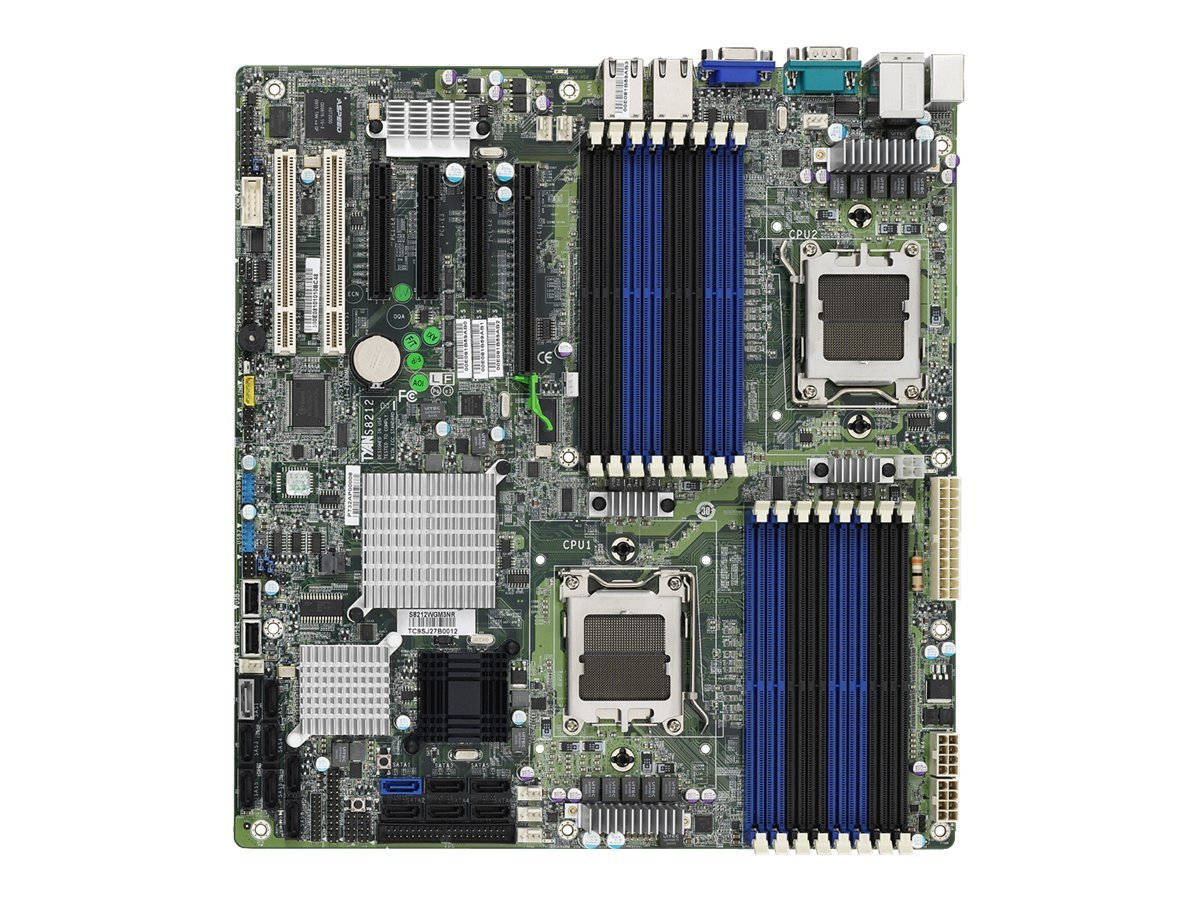 Tyan Motherboard, S8212GM3NR AMD 4-Core 6-Core ATI Chipset DDR2 PCIE SATA