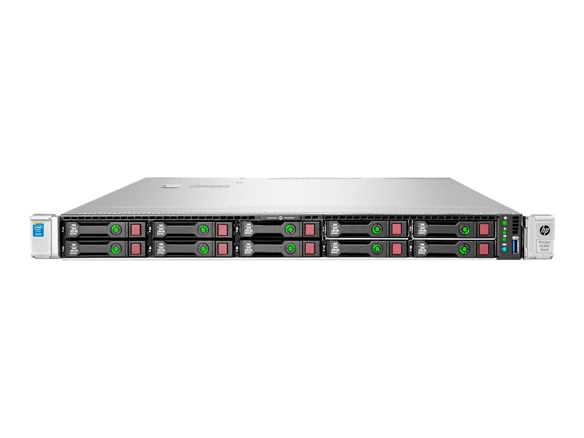 HPE ProLiant DL360 Gen9 1U RM (2x)Xeon 12C E5-2650 v4 2.2GHz 32GB 8x2.5 HP Bays P440ar 2x10Gb 2x800W, 818209-B21, 31849824, Servers