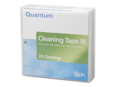 Quantum DLT Cleaning Tape Cartridge, THXHC-02, 48044, Tape Drive Cartridges & Accessories