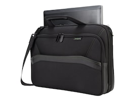 Targus Spruce Ecosmart Topload 15.6, Black, TBT256, 30590030, Carrying Cases - Notebook