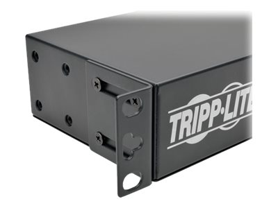 Tripp Lite Metered PDU + Isobar, 1.44kW 120V 15A, 3840 Joules, 1U RM, 5-15P 15ft Cord Input, (14) 5-15R Outlets, PDUMH15-ISO