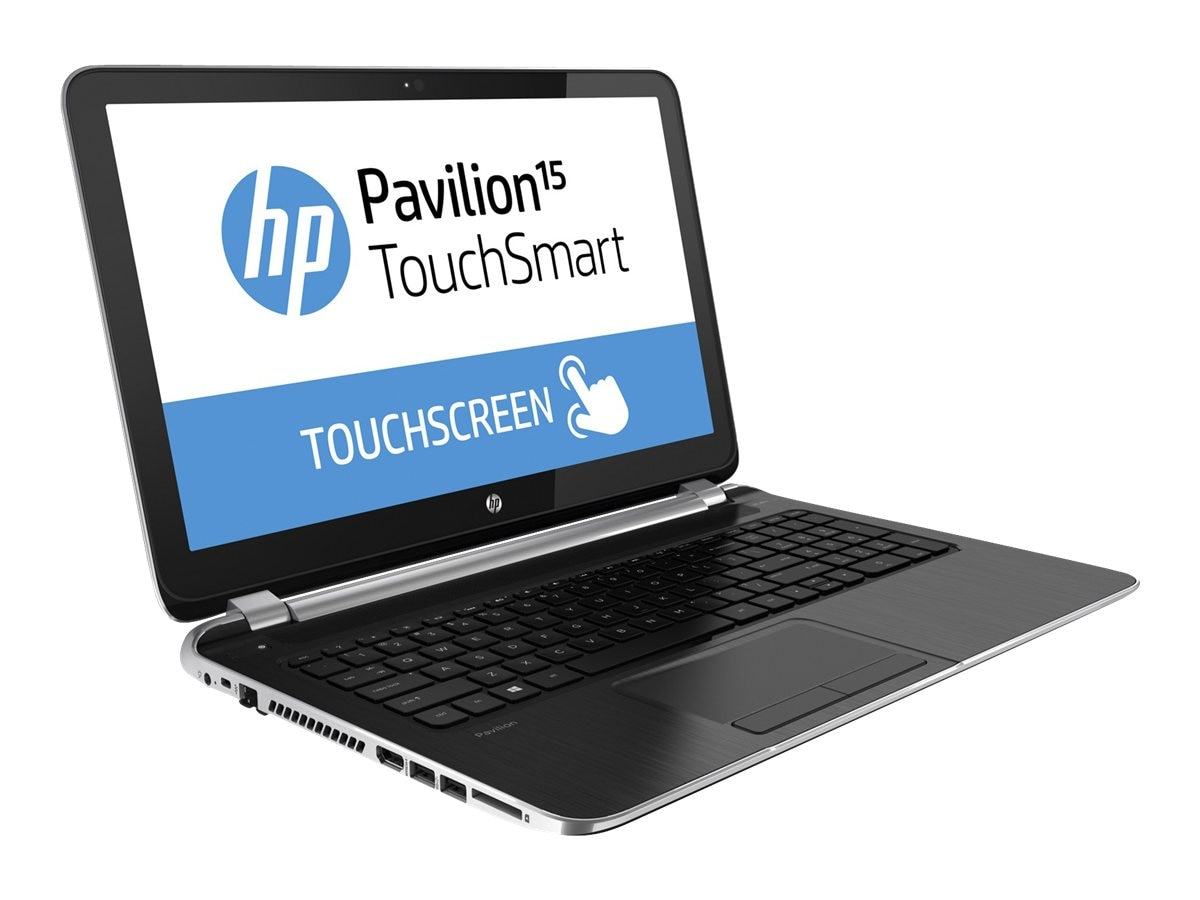 HP Pavilion 15-n260us TouchSmart AMD QC A8-5545M 1.7GHz 6GB 750GB DVD SM bgn 15.6 HD Touch 4C W8.1, F5Y61UA#ABA, 16615069, Notebooks
