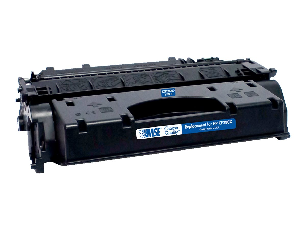 CF280X Black Extended Yield Toner Cartridge for HP, 02-21-80162